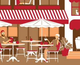Ilustrações para Café